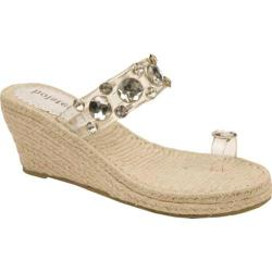 Women's Holster Princess Espadrille Clear