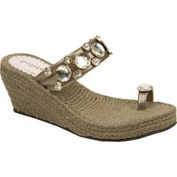 Women's Holster Princess Espadrille Pewter