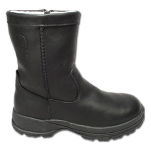 Men's Iceboaters Snow Squall Black Leather