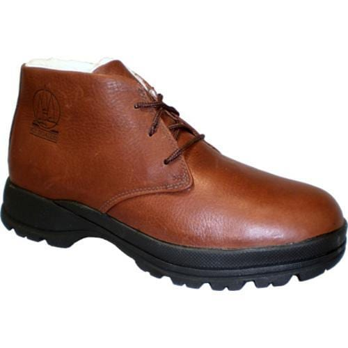 Men's Iceboaters Winter Harbor Brown Leather