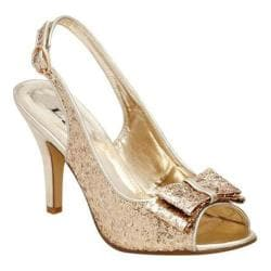 Women's Lava Shoes Flo Gold Glitter