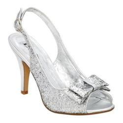 Women's Lava Shoes Flo Silver Glitter