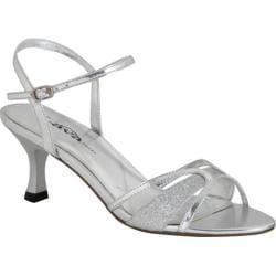 Women's Lava Shoes Nikki Silver Polyurethane