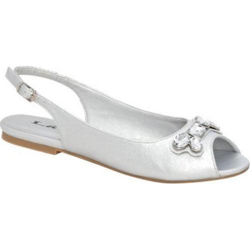 Women's Lava Shoes Patti Silver Metallic