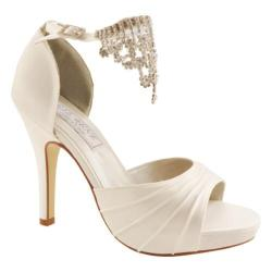 Women's Liz Rene Guadalupe White Silk Satin
