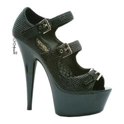 Women's Penthouse Theda PH609 Black Patent