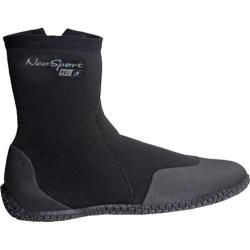 NeoSport Wetsuits 5mm Hi-Top Zip Boot Black