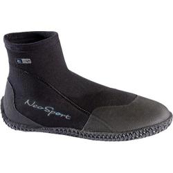 NeoSport Wetsuits 5mm Low Top Boot Black