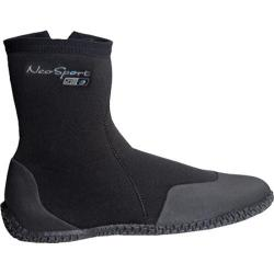 NeoSport Wetsuits 7mm Hi-Top Zip Boot Black