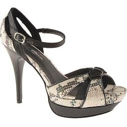 Women's Night Moves by Allure Jazz Black/Beige