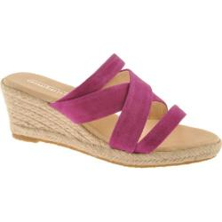 Women's Oomphies Lady Strappy Purple Suede