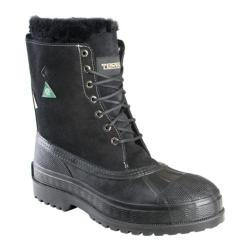 Men's Terra Thermatoe Black Full Grain Nubuck