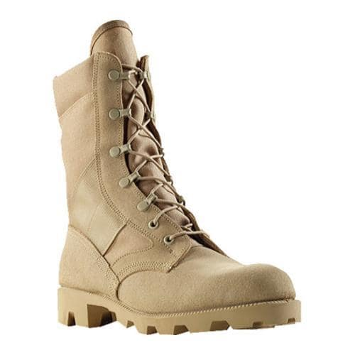 Men's Wellco Imported Hot Weather Jungle Combat Boot Tan
