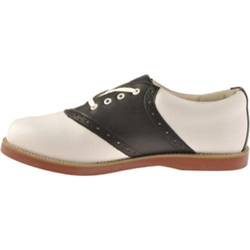 Women's Willits Cheer Saddle White/Black w/ Coral Sole