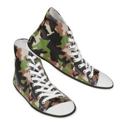 Zipz Army Camo HiTop Covers Green