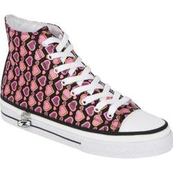 Zipz Ruby Heartz HiTop Ruby Heartz