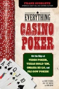 Everything Casino Poker: Get the Edge at Video Poker, Texas Hold'em, Omaha Hi-Lo, and Pai Gow Poker! (Paperback)