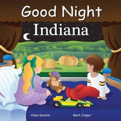 Good Night Indiana (Board book)