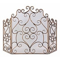Uttermost Kora Gold Leaf Fireplace Screen