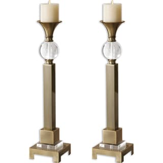 Uttermost Euron Candle Holders (Set of 2)