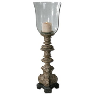 Nerio Distressed Candle Holder