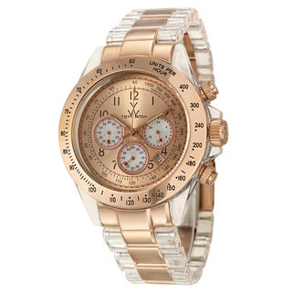ToyWatch Women's Steel 'Heavy Metal' Tachymeter Watch