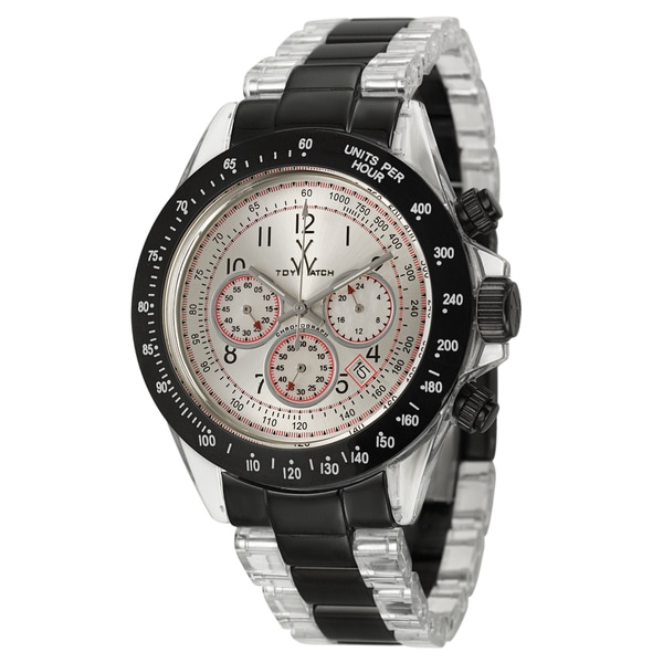 ToyWatch Men's Steel and Plastic 'Heavy Metal' Tachymeter Watch