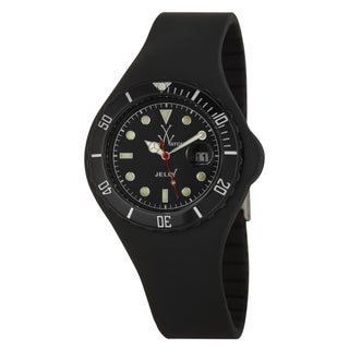 ToyWatch Men's Black Plastic 'Jelly' Diver Watch