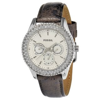 Fossil Women's Pewter 'Stella' Watch