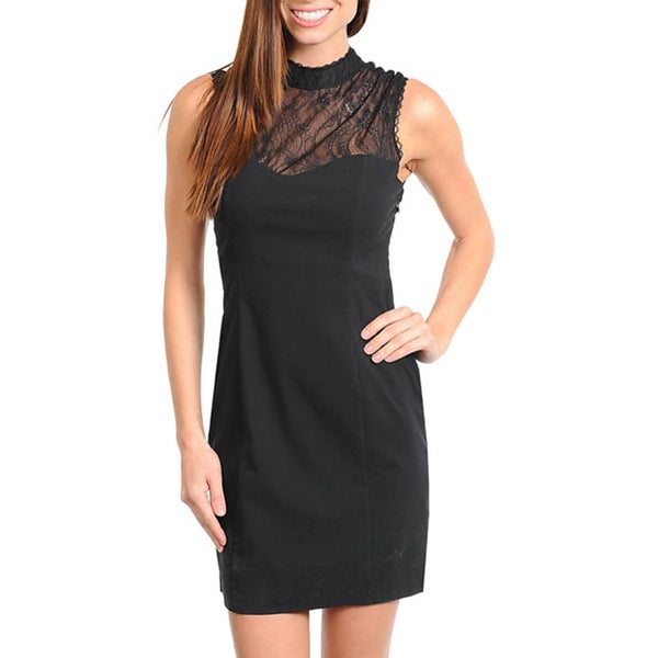 Stanzino Women's Little Black Dress