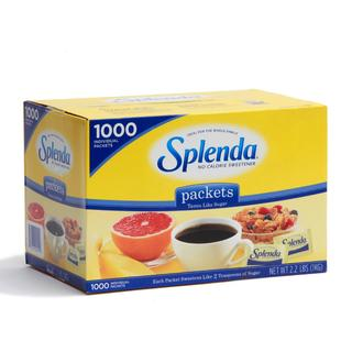 Splenda No Calorie Sweetener Packets (Case of 1,000)