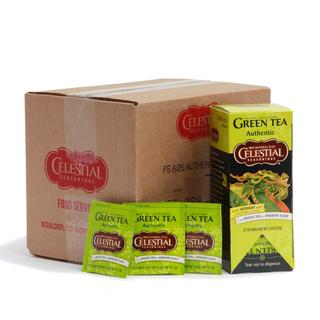 Celestial Seasonings Authentic Green Tea (Pack of 6)