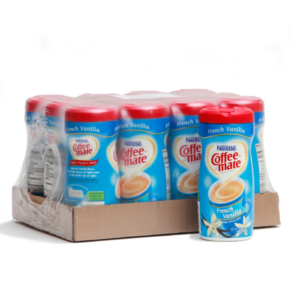CoffeeMate Coffee-Mate French Vanilla Creamer Canisters (Pack of 12) at Sears.com