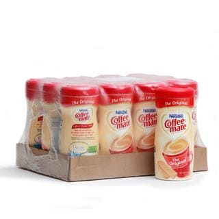 Coffee-Mate Original Creamer Canisters (Pack of 12)