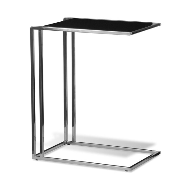 Black Lacquer Side Table