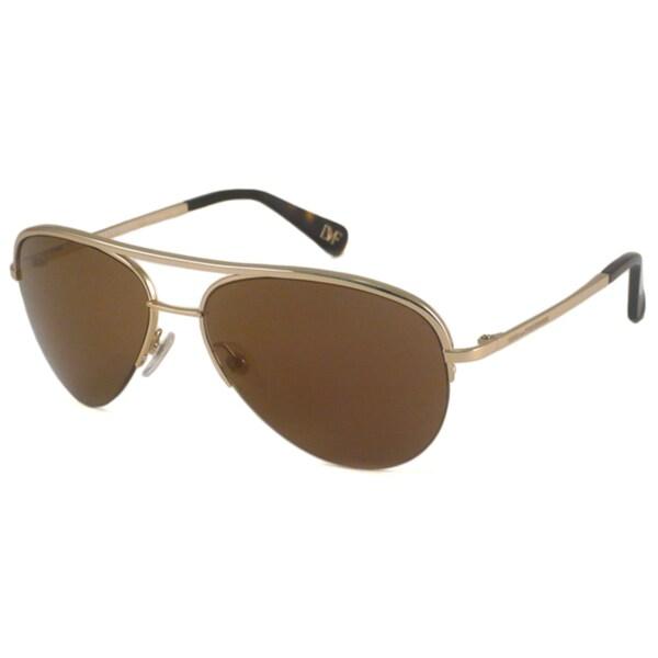 Diane Von Furstenberg Women's DVF101S Aviator Sunglasses