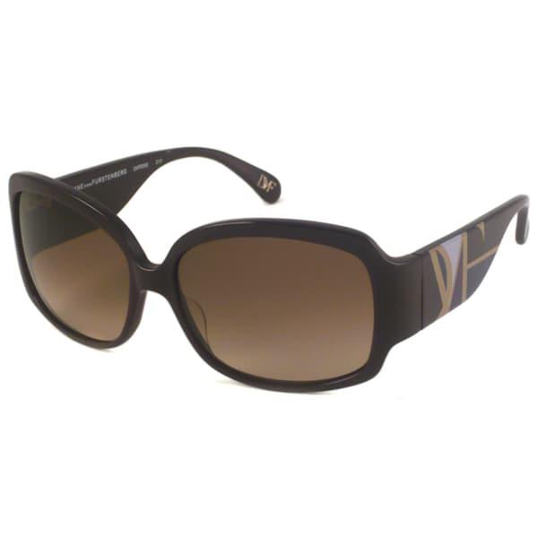 Diane Von Furstenberg Women's DVF506S Rectangular Sunglasses