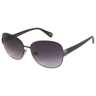 Diane Von Furstenberg Women's DVF814S Yulia Rectangular Metal/Plastic Sunglasses
