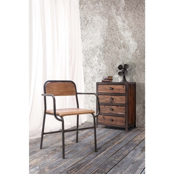 West Portal Distressed Natural Chair
