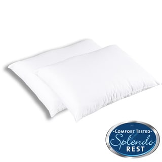 Splendorest ProTech Allergen Barrier Standard Size Pillows (Pack of 12)