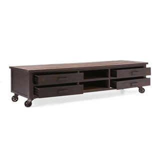 Fort Mason Distressed Finish Entertainment Stand