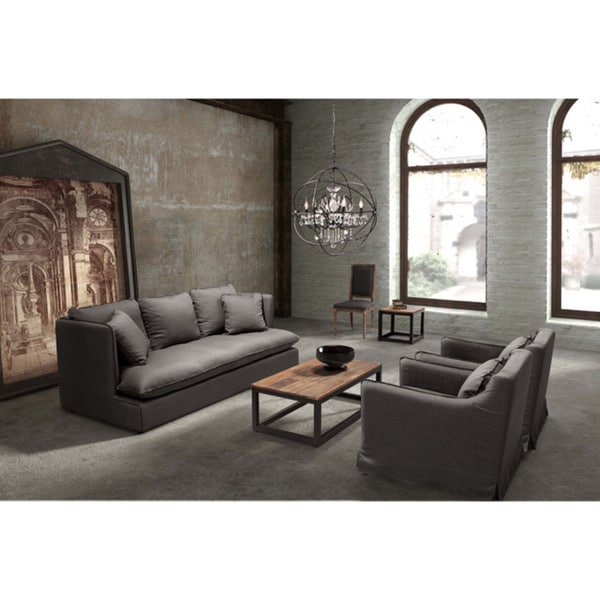 Pacific Heights Charcoal Grey Sofa