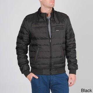 Members Only Men's Slim Down Racer Jacket
