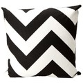 Chevron Black/ White Decorative Throw Pillow