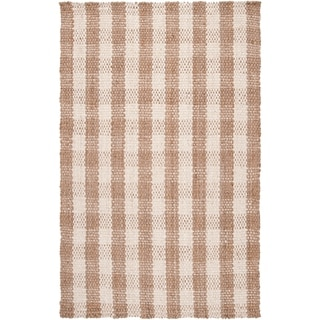 Country Living Hand-Woven Hanson Beige Natural Fiber Jute Rug