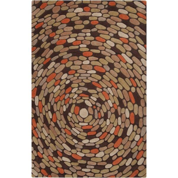 Hand-tufted Emory Geometric Wool Rug