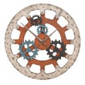 Casa Cortes 'Gears of Time' Large Wall Clock