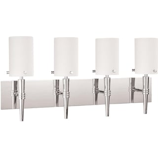 Nuvo 'Jet' 4-light Polished Chrome Vanity