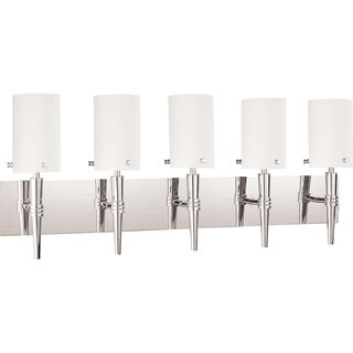 Nuvo Jet 5-light Polished Chrome Vanity