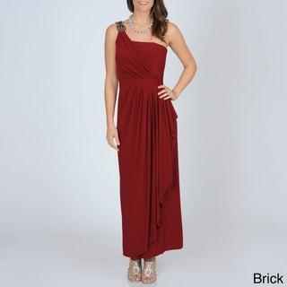 R & M Richards Women's Goddess Jersey Knit Gown